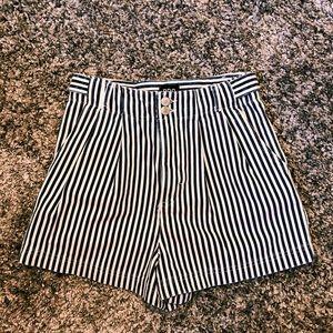 Urban Outfitters calvin stripe denim trouser short